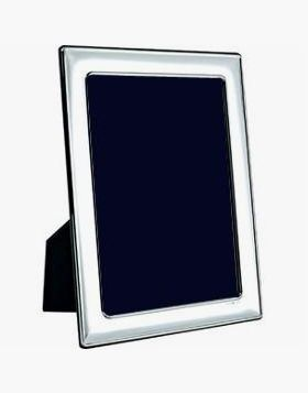 Silver Photo Frame - Wood Back