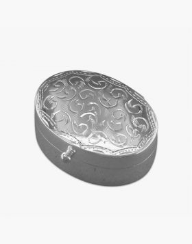 Sterling Silver mini Pill Box