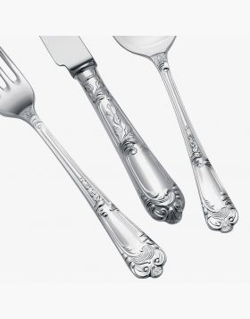 Silver Plated 124 piece Cutlery set La Regence design