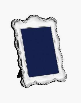 Silver frame for portrait photograph (PDR)