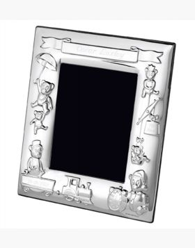 Baby Silver Plate Frame (CR3-SP)